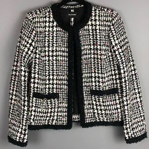 The Kooples Houndstooth Confetti Tweed Jacket 38/M